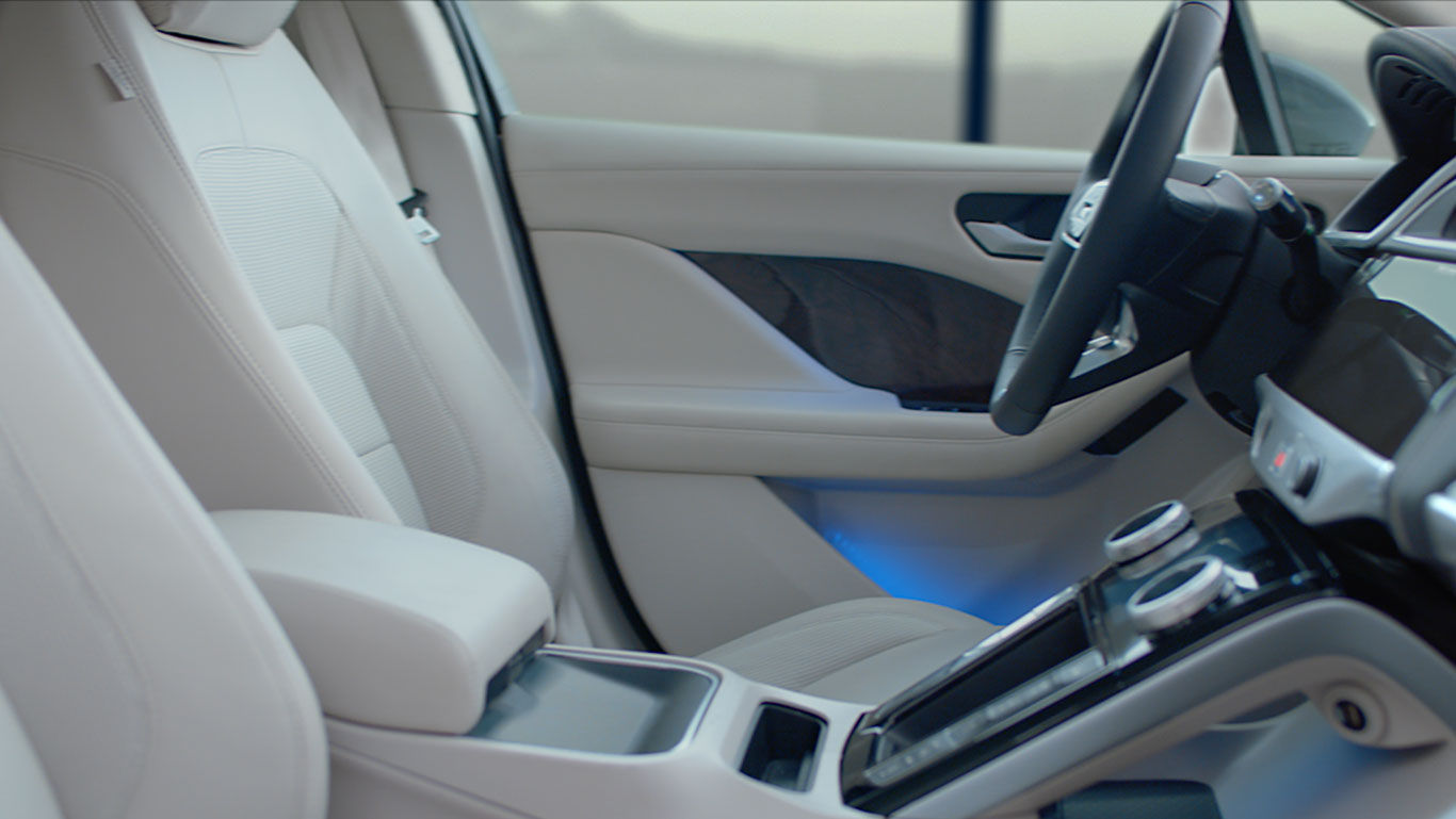 Jaguar I Pace Electric Car Interior Jaguar Jaguar Malta