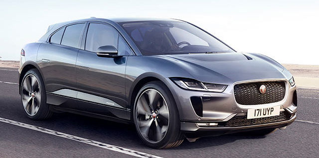 NEW JAGUAR I‑PACE