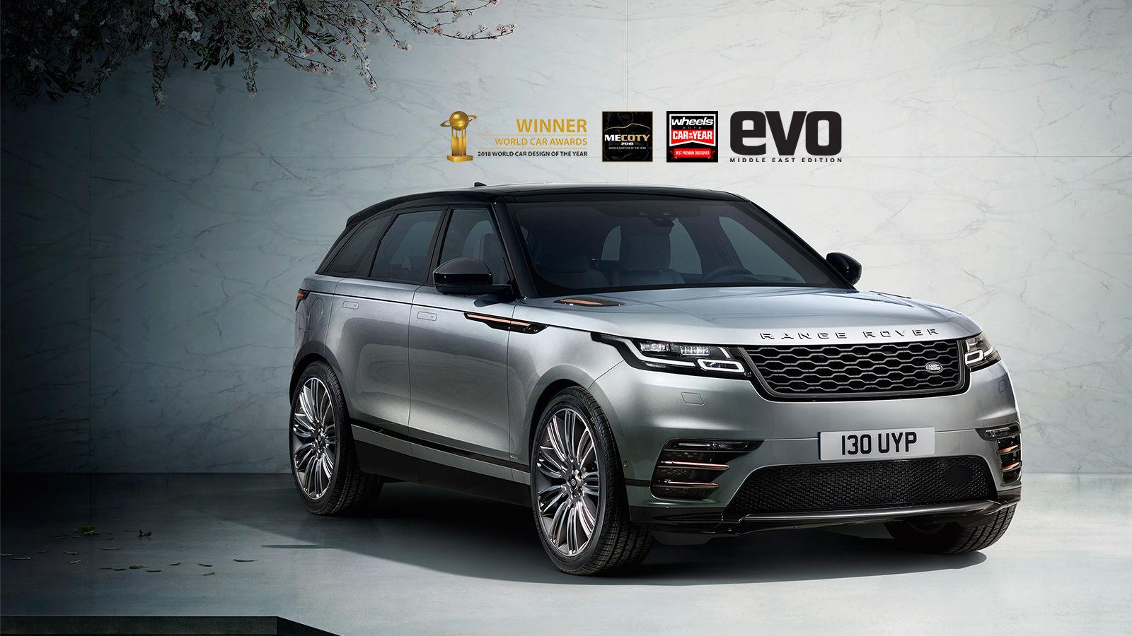Range Rover Velar - Luxurious Compact SUV | Landrover Jordan