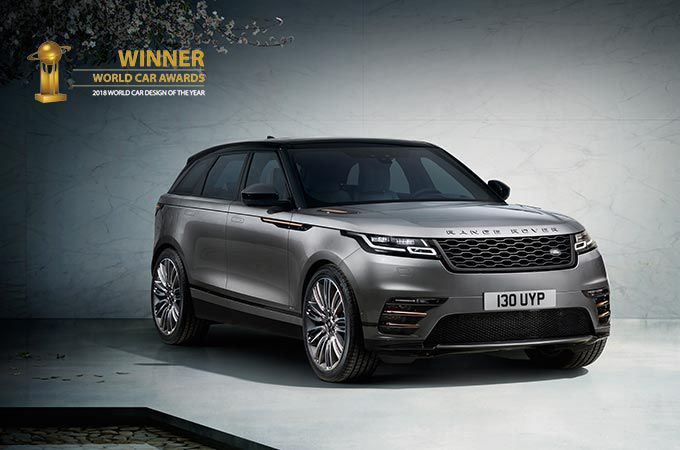 RANGE ROVER VELAR - WINNER WORLD CAR DESIGN OF THE YEAR