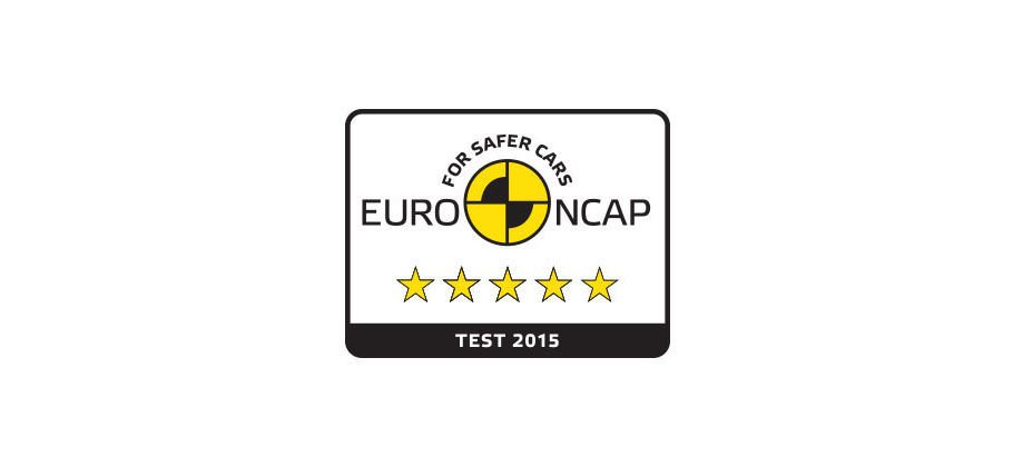 EURO NCAP BEST IN  CLASS RATING