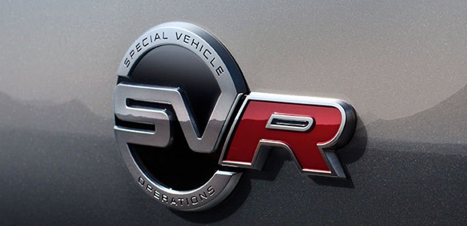 PERSONALISE F-PACE SVR