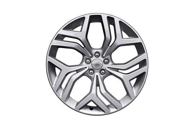 "21"" 5 SPLIT-SPOKE 'STYLE 5047' WHEELS WITH SPARKLE SILVER FINISH"