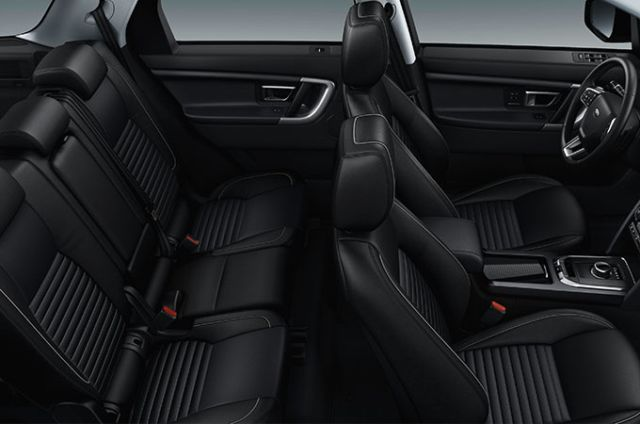PERFORATED WINDSOR LEATHER SEATS