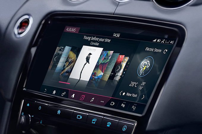 Jaguar XJ | In Car Technology with InControl | Jaguar