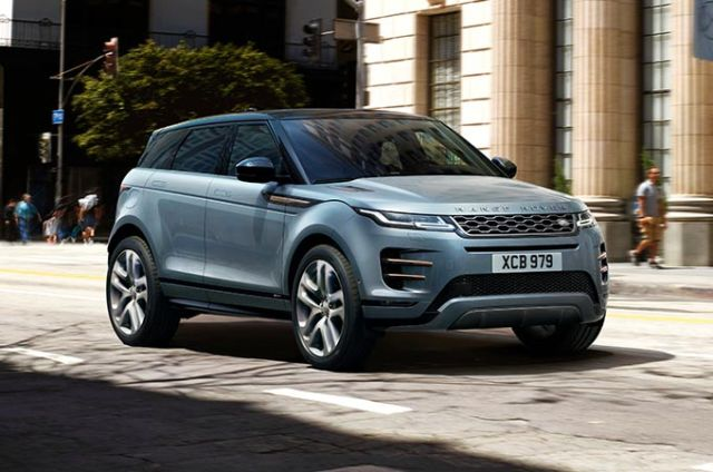 NEW RANGE ROVER EVOQUE from €449* a month at 3.9% APR