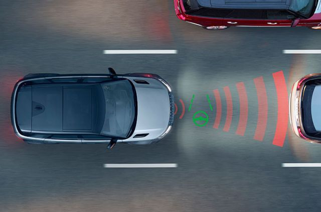 ADAPTIVE CRUISE CONTROL I STEERING ASSIST