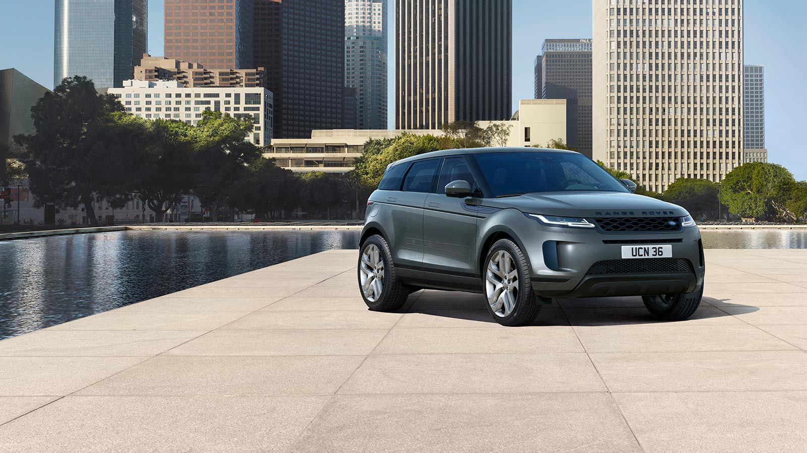New Range Rover Evoque Options Accessories Land Rover New Zealand