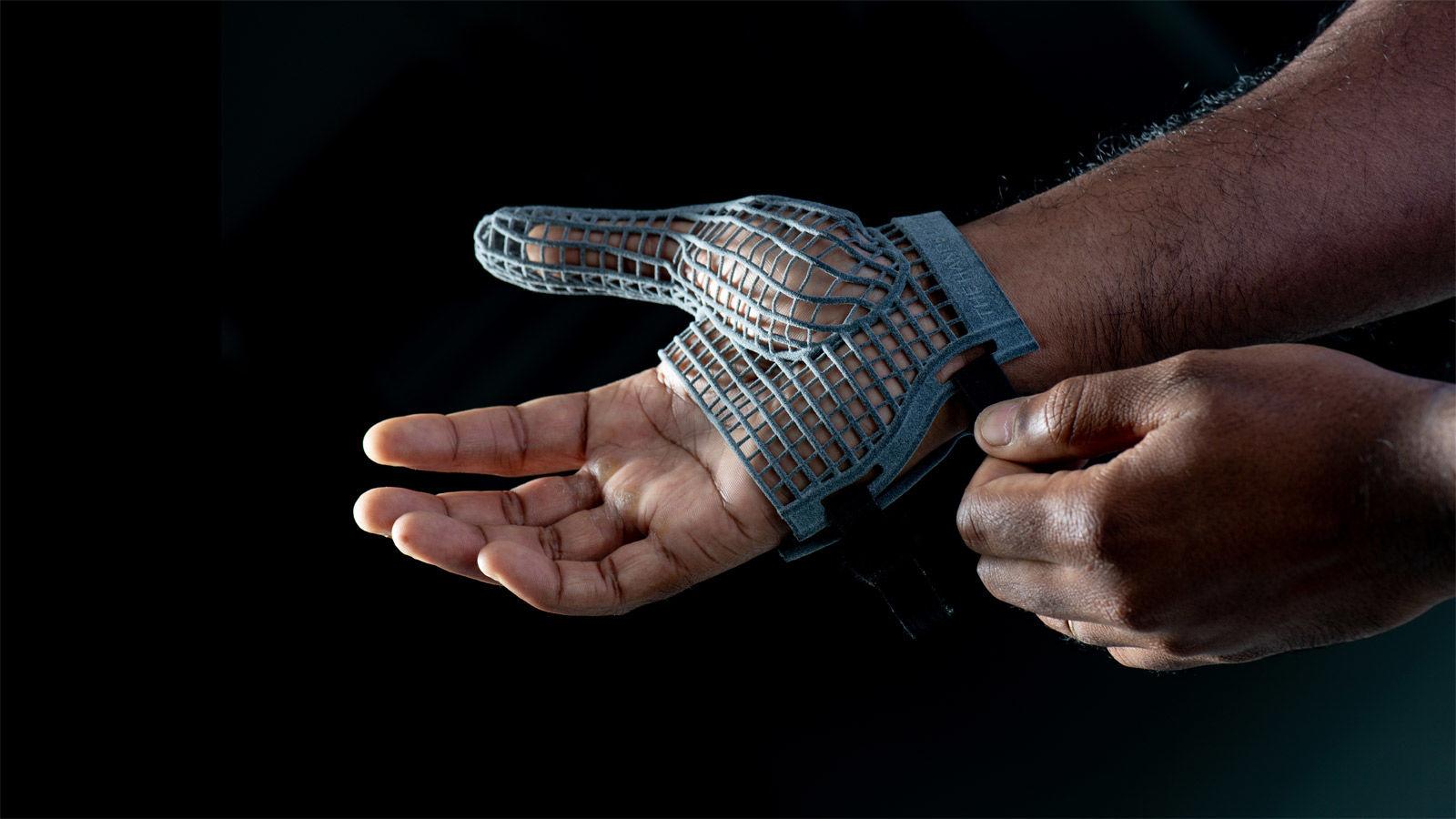 3D yazıcı eldiven görseli
