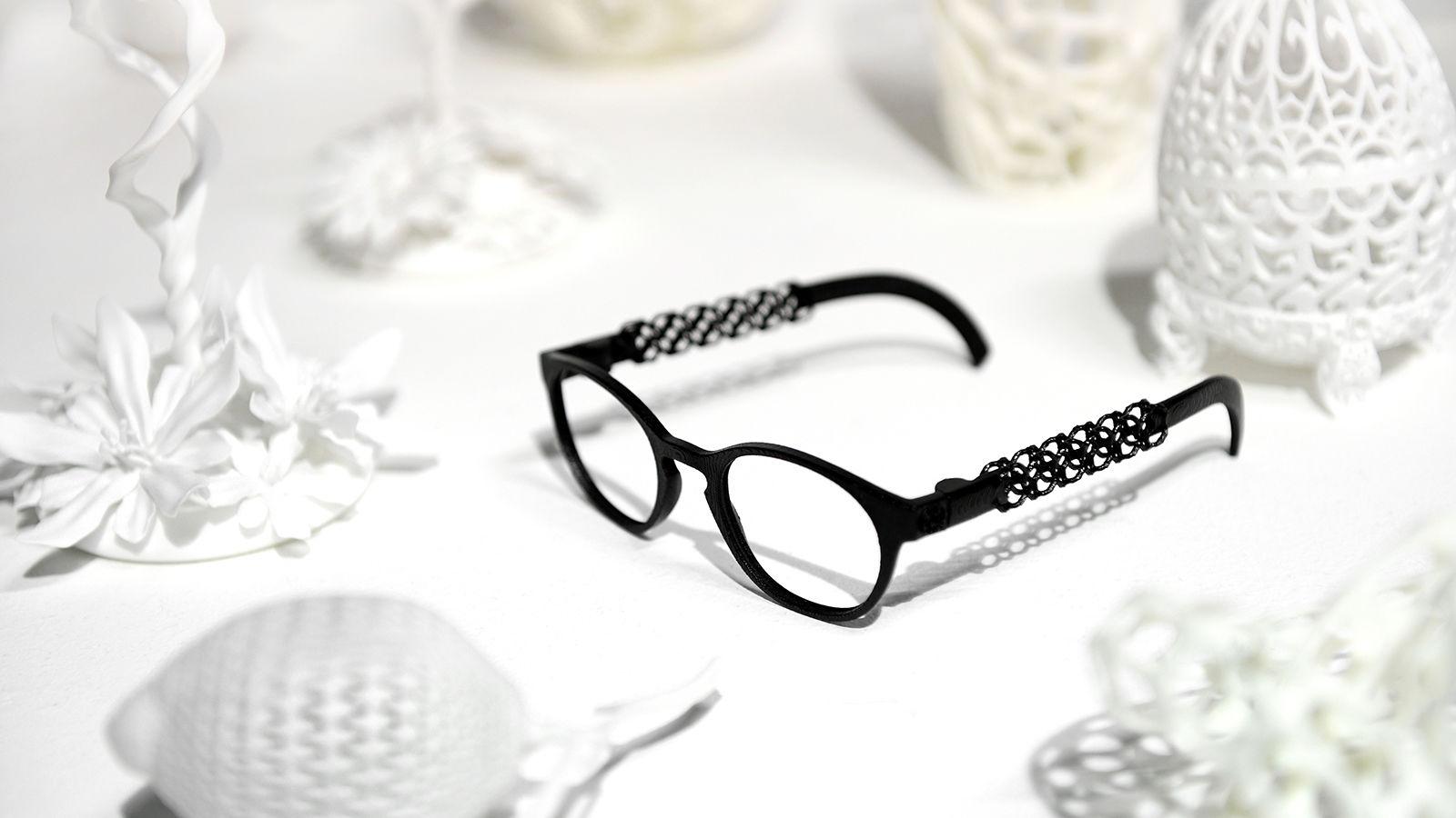 3D yazıcıda yapılmış gözlük