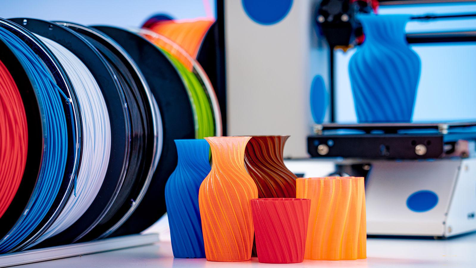 3D yazıcı için renk