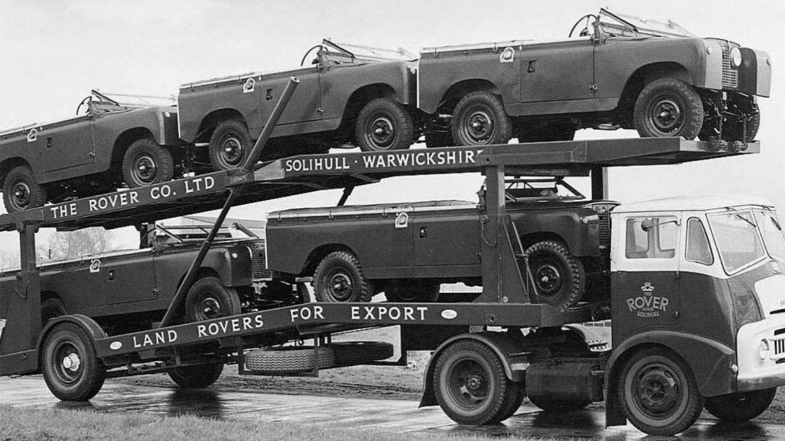 Land Rover Seri II araçları