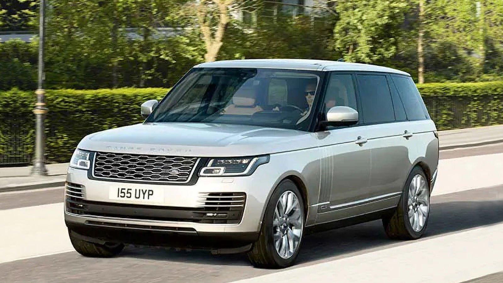 Land Rover PHEV araç