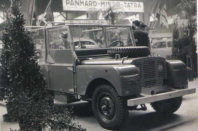 Seri I aracının Amsterdam Araç Fuarı'ndaki ilk görünümü