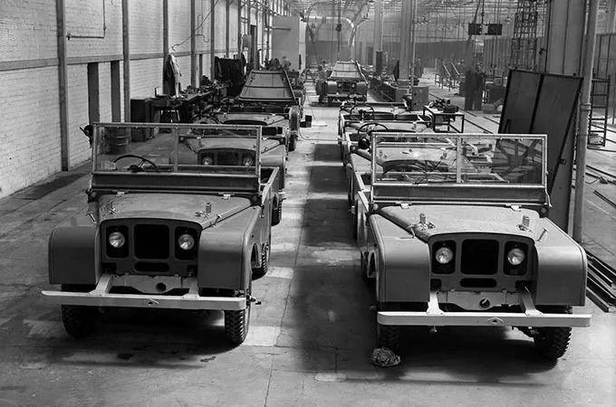 Solihull'daki Seri I seri üretim hattı