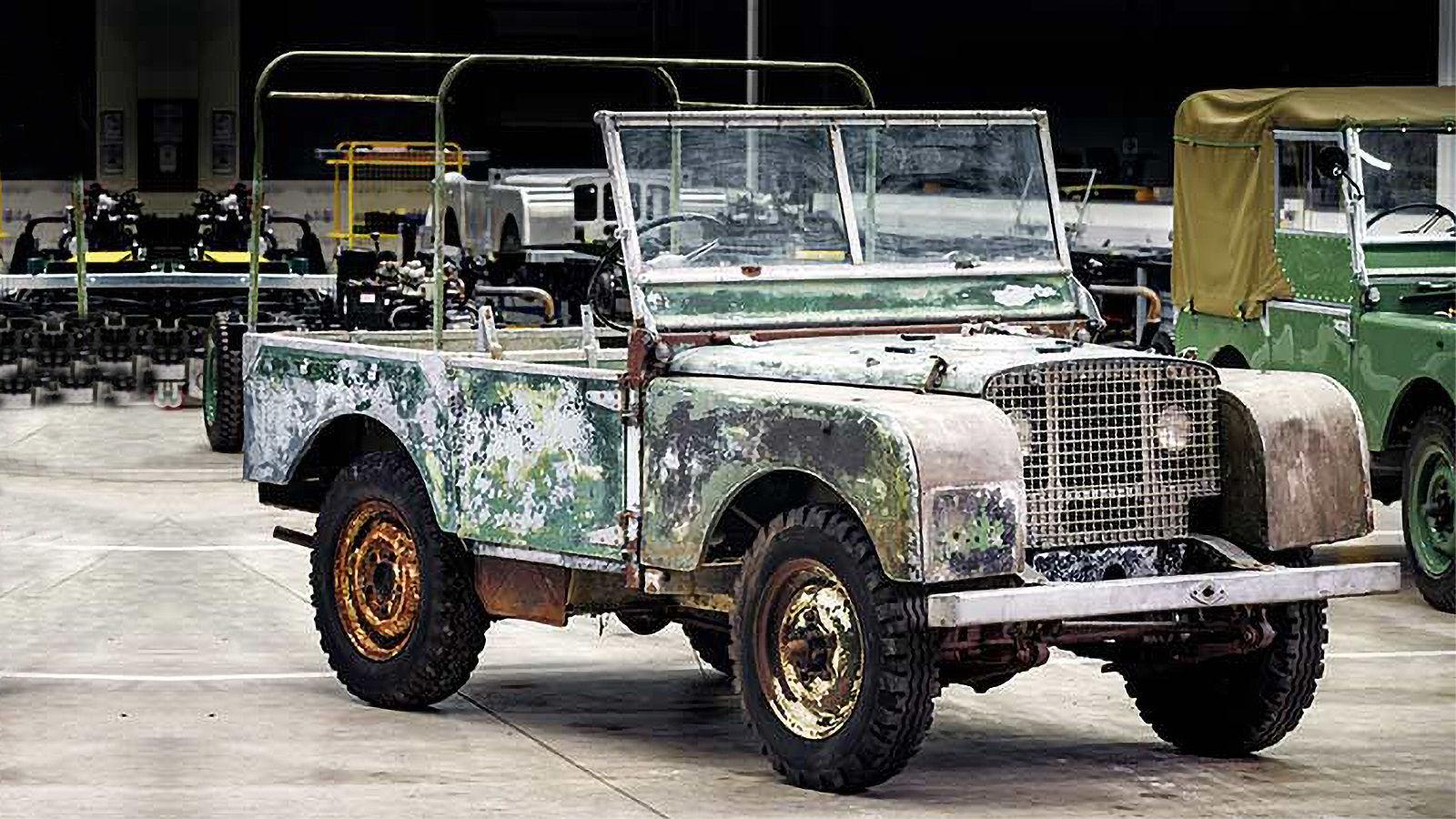 Land Rover Classic Works, bu orijinal Seri I aracını büyük bir ustalıkla restore etti