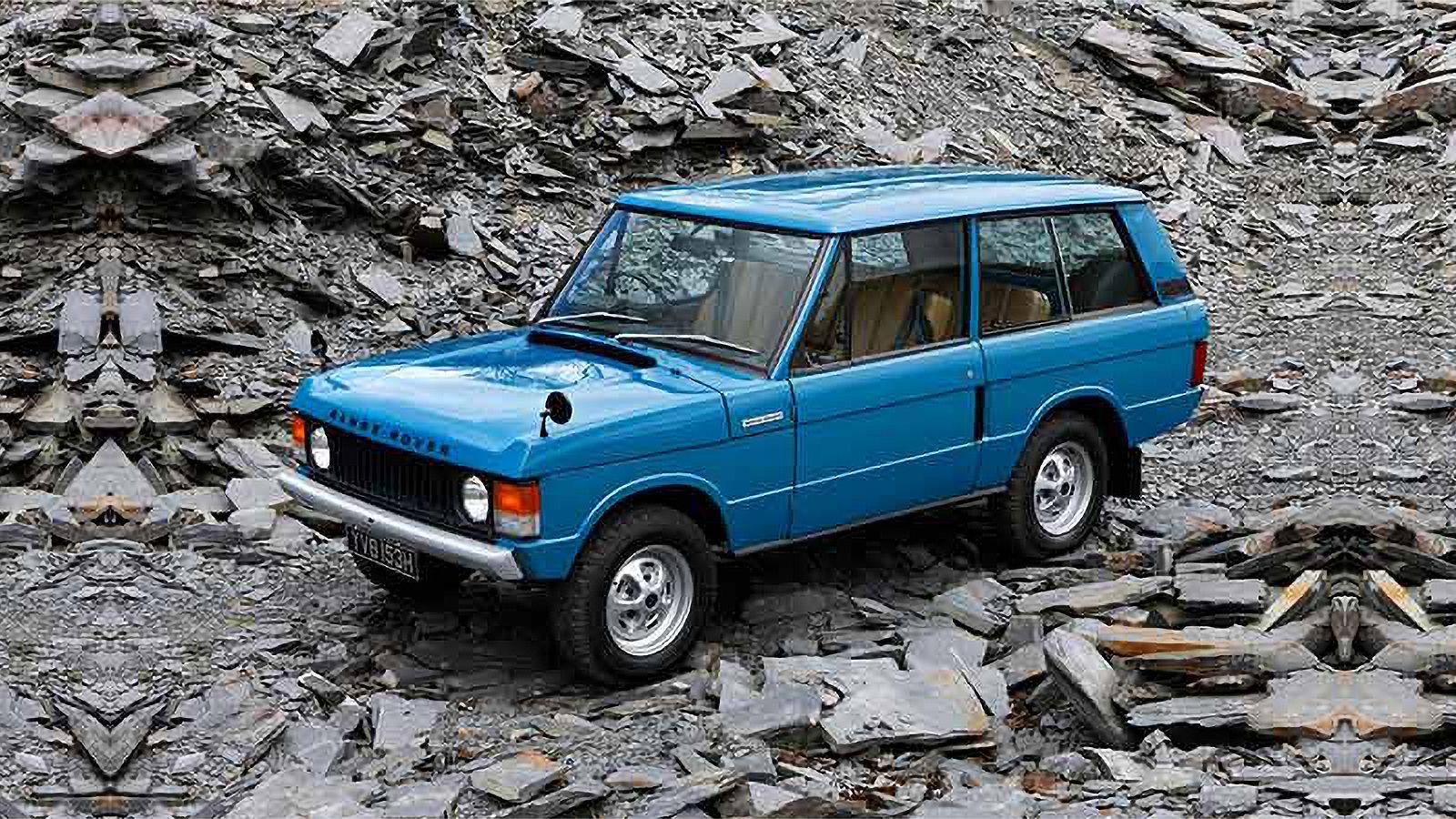 Orijinal Range Rover 1970 yılında piyasaya sunuldu