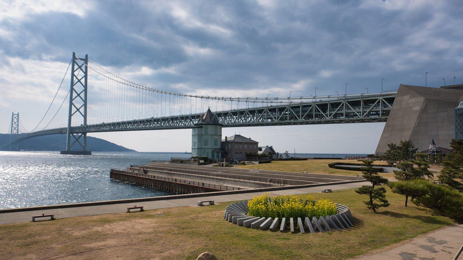 Akashi Kaikyō Köprüsü, Japonya
