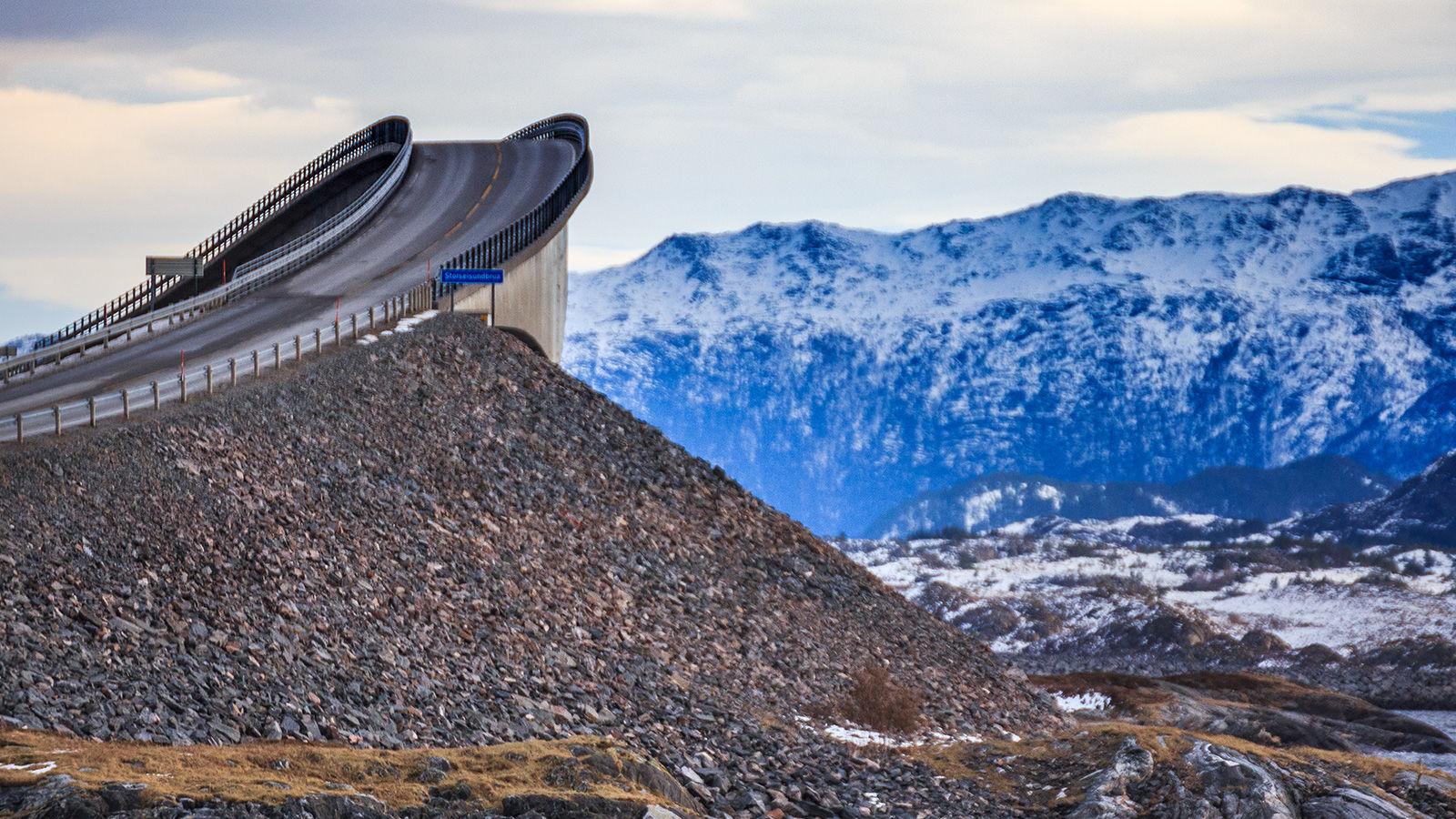 Storseisundet Köprüsü, Norveç