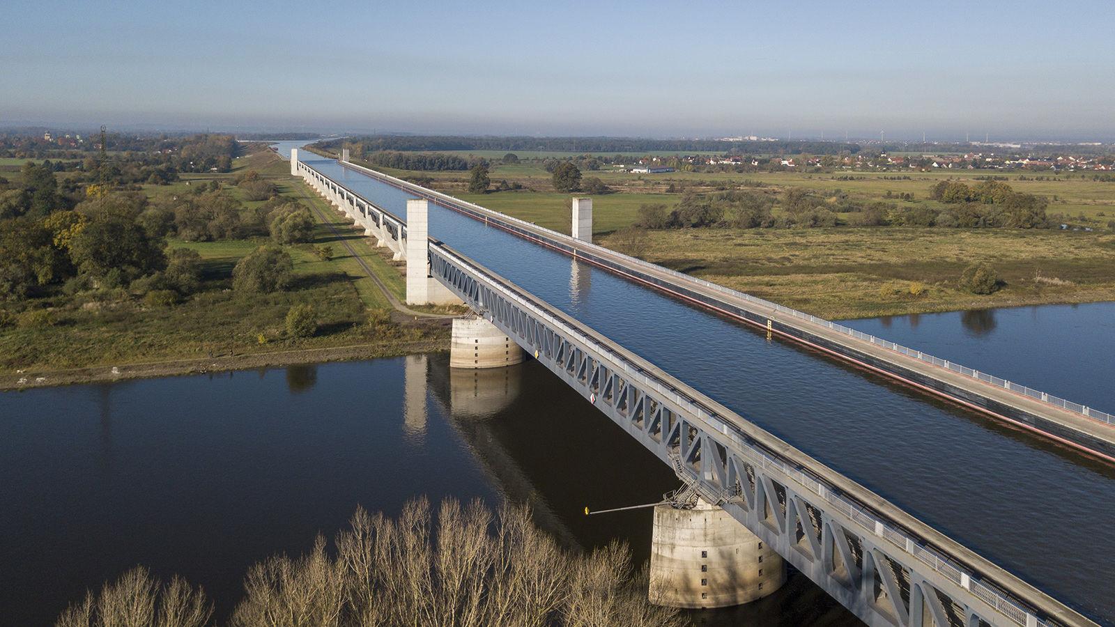 Magdeburg Su Köprüsü, Almanya