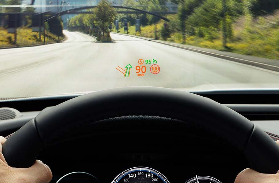 ΣΥΣΤΗΜΑ HEAD-UP DISPLAY