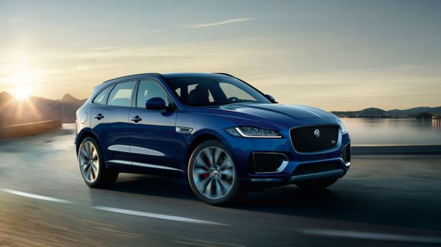 Jaguar F‑PACE for business