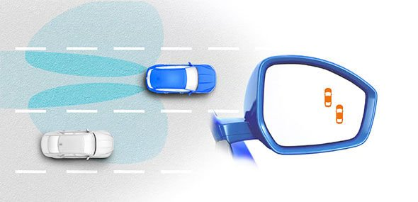 BLIND SPOT MONITOR AND REVERSE TRAFFIC DETECTION*