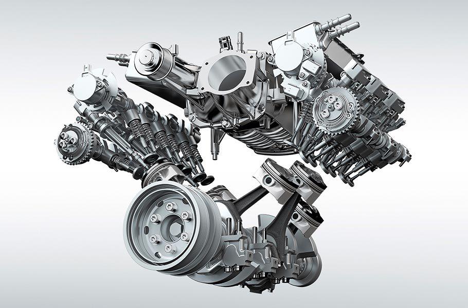 V6 DE 3,0 LITRI SI 380 CP, SUPRAALIMENTAT, PE BENZINA