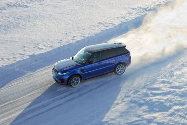Drive on ice