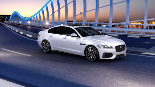 Jaguar XF for business