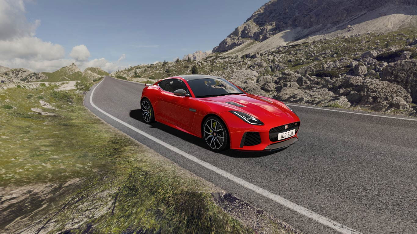 Jaguar F Type Sports Car Agile Distinctive Powerful Jaguar Kenya