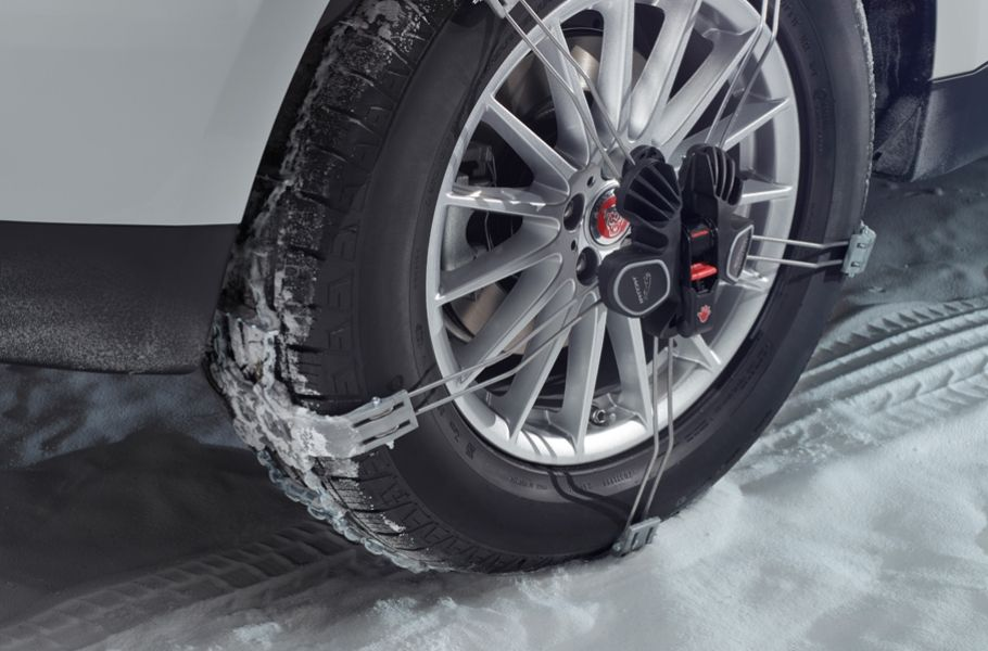 TRACTION AIDS FOR JAGUAR TYRES