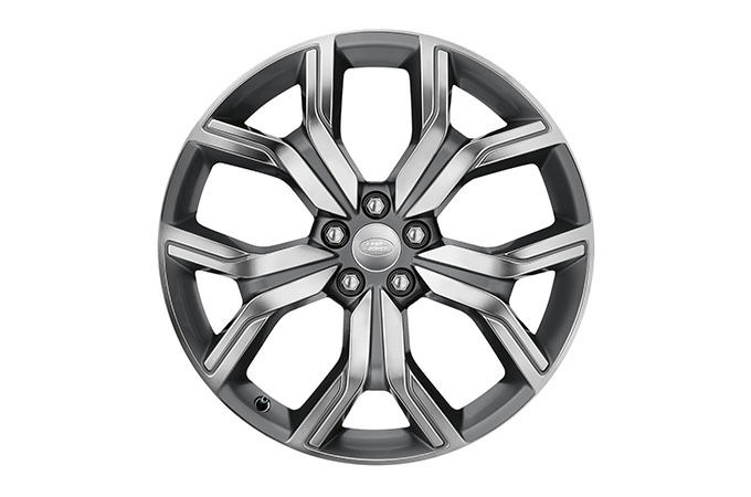 DISTINCTIVE ALLOY WHEELS