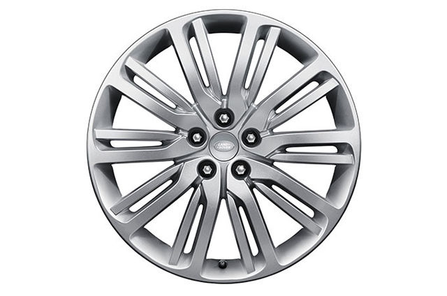 "21"" ALLOY WHEELS"