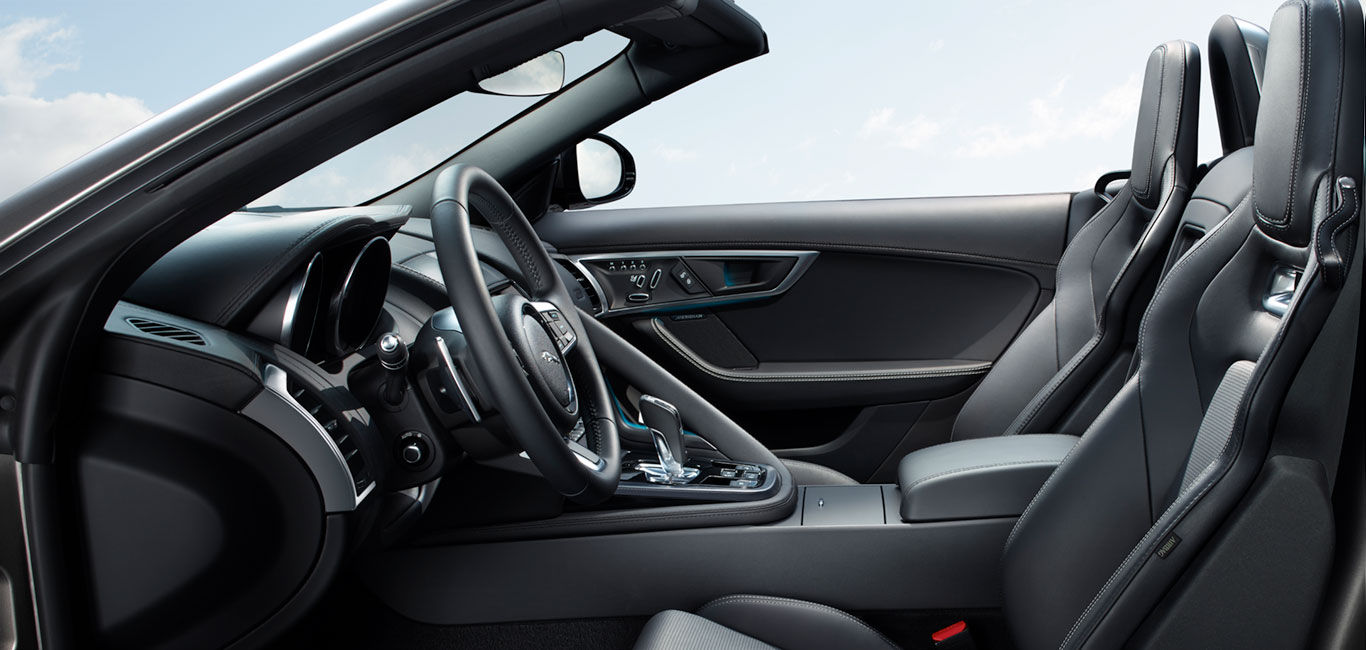 Jaguar F Type Interior Features Sports Car Jaguar New Zealand