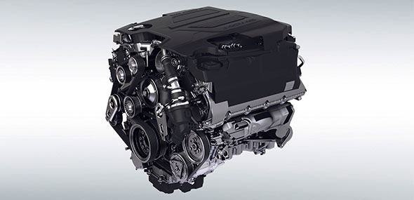 5.0 LITRE V8 575PS ENGINE