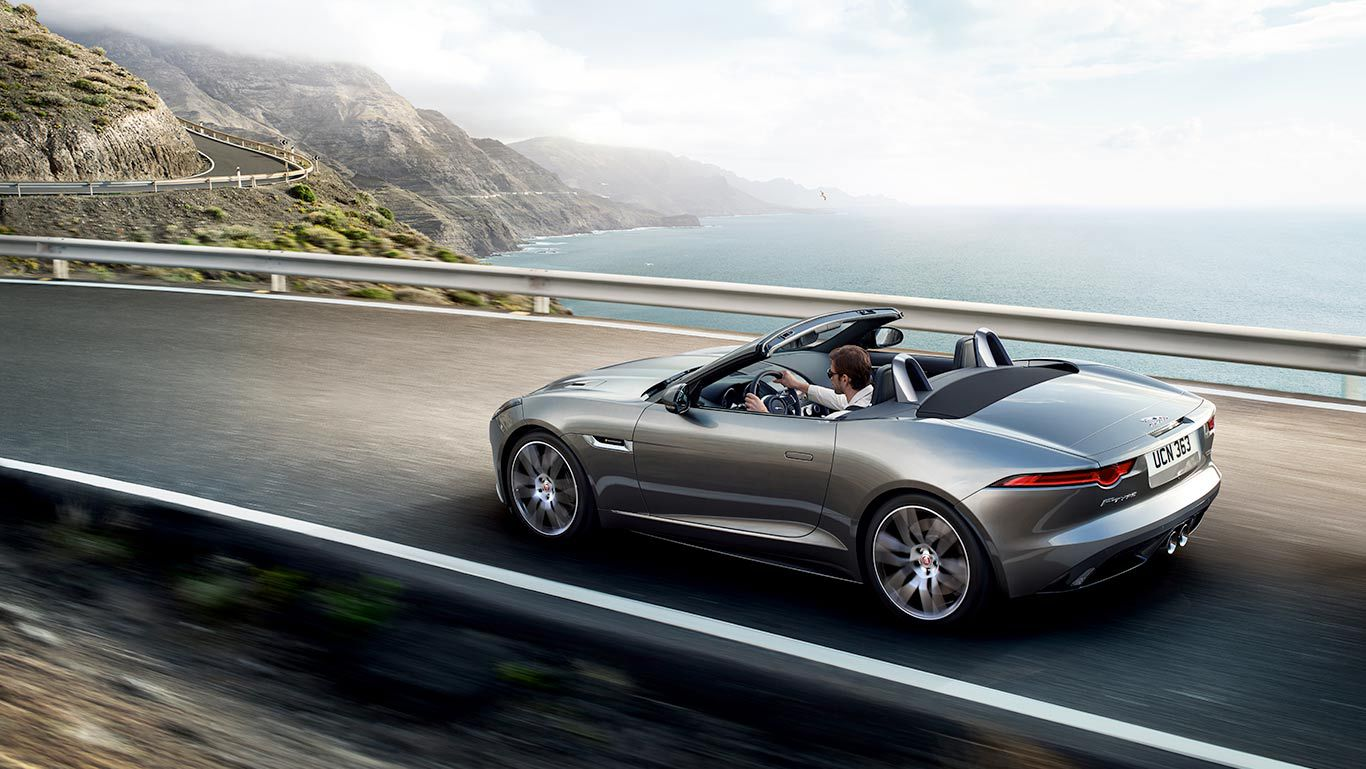 F TYPE Convertible Gallery | Exhilarating Sports Car | Jaguar New Zealand