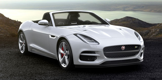 F‑TYPE R CONVERTIBLE