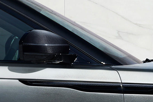 CARBON FIBRE EXTERIOR ACCESSORIES