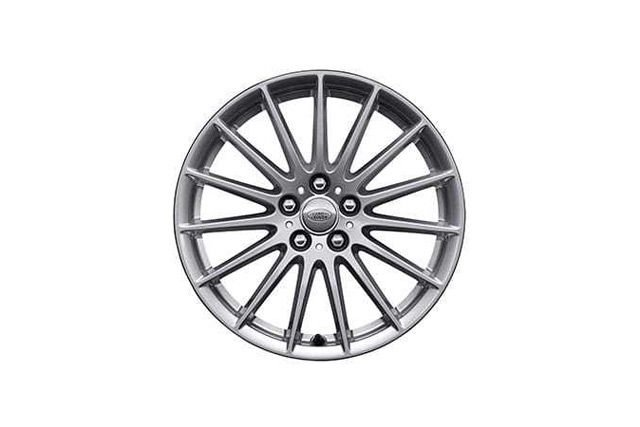"18"" 15 SPOKE 'STYLE 1022' WHEELS WITH SPARKLE SILVER FINISH"