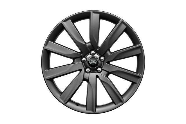 "21"" 10 SPOKE 'STYLE 1033' WHEELS WITH SATIN DARK GREY FINISH"