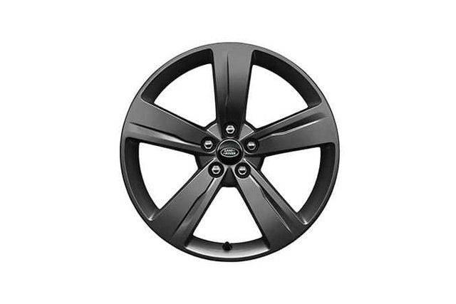 "19"" 5 SPOKE 'STYLE 5046' WHEELS WITH SATIN DARK GREY FINISH"