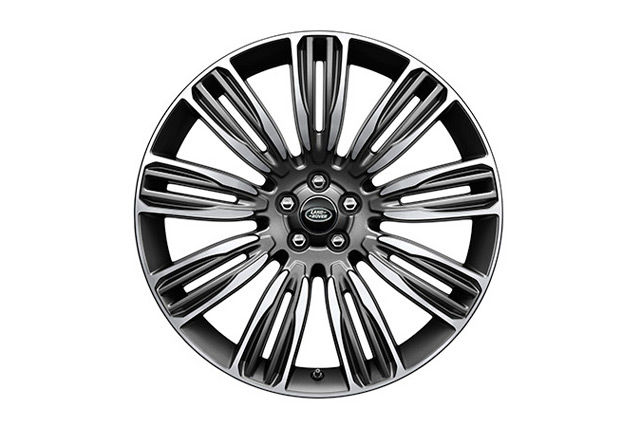 "22"" 9 SPLIT-SPOKE 'STYLE 9007' WHEELS WITH DIAMOND TURNED FINISH"