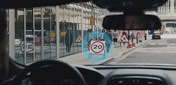 TRAFFIC SIGN RECOGNITION AND ADAPTIVE SPEED LIMITER