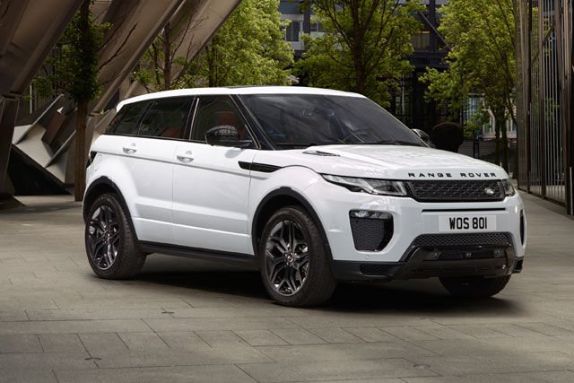 RANGE ROVER EVOQUE from €440* a month at 4.9% APR