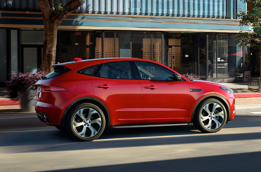 E-PACE MEANS BUSINESS