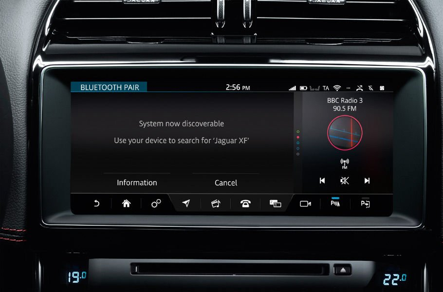 JAGUAR BLUETOOTH® CONNECTIVITY