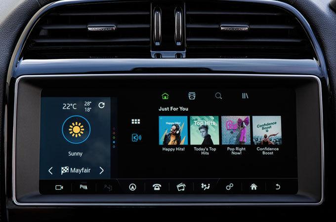 InControl   Spotify   Connectivity   Jaguar Thailand