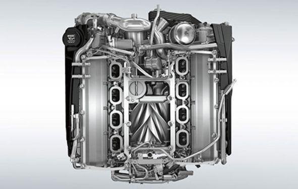 ĐỘNG CƠ XĂNG SIÊU NẠP V8 5,0L 575PS