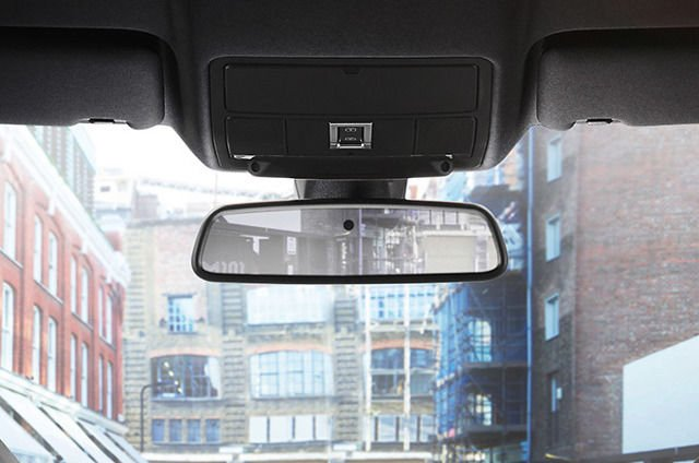AUTO-DIMMING INTERIOR REAR VIEW MIRROR